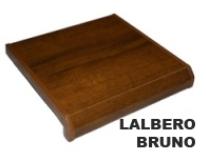 Новинка! Новый декор подоконников Lalbero Bruno - это высококачественная имитация лакированного дуба. Оттенок декора подобран таким образом, что он превосходно сочетается с ламинированным профилем окна, а также может быть установлен под деревянные окна