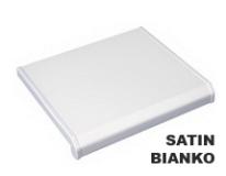 Гладкая матовая фактура поверхности белого сатина своей скромностью и изысканностью создаст уютную обстановку в Вашем доме